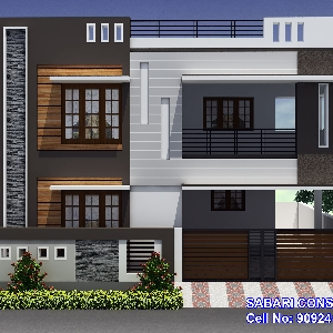 Coimbatore house elevation for sale joy studio design for Home architecture coimbatore